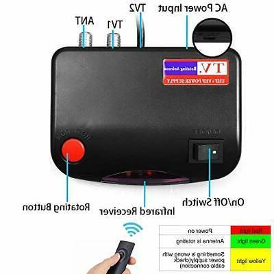 200 HDTV Motorized Amplified 360° Rotation