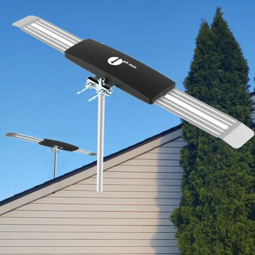 200 mile hdtv 1080p outdoor amplified antenna