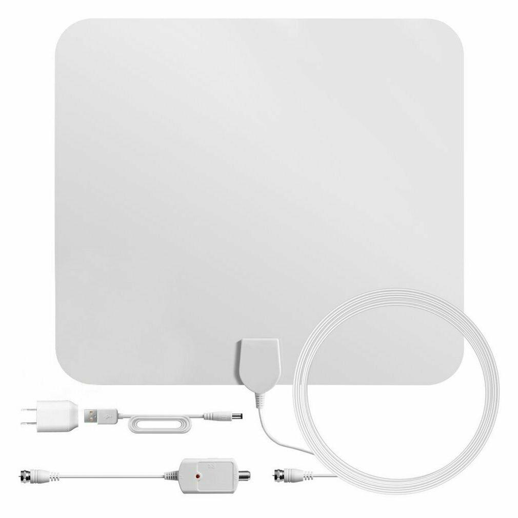 200 Mile HDTV Indoor Antenna Aerial HD Cable