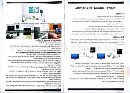 200 Mile Range Antenna TV Digital 4K Indoor HDTV