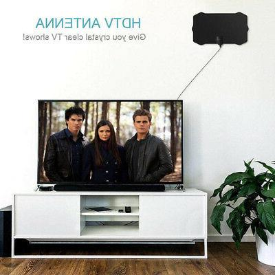 200 Mile Indoor Antenna HD Skywire Digital HDTV 1080P For Home