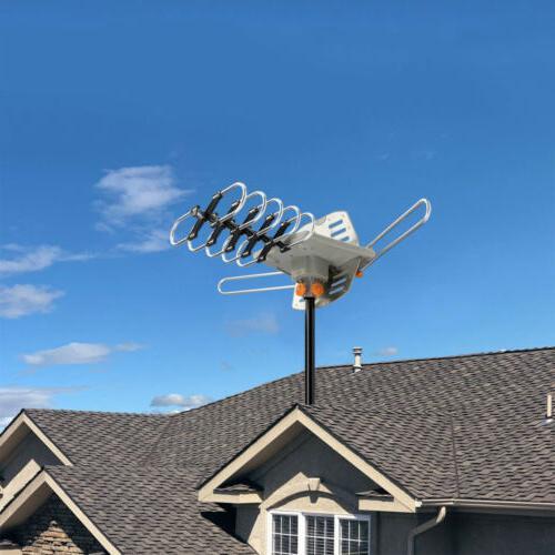 200 Mile Amplified Digital Signal UHF VHF 36dB