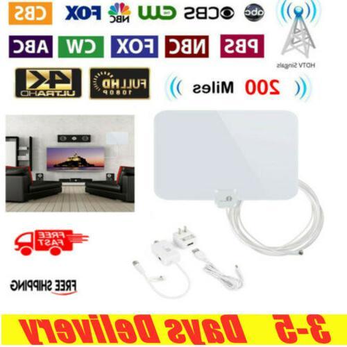 200 miles digital tv antenna range signal