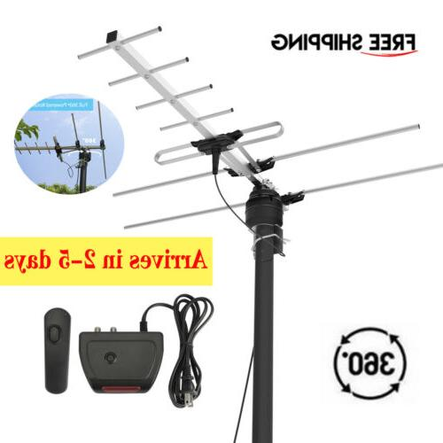 200 miles hd digital outdoor tv antenna