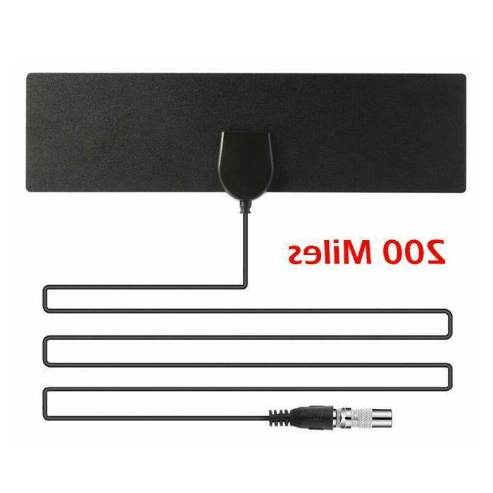 200 Antenna TV 4K Antena Digital Indoor HDTV 1080P
