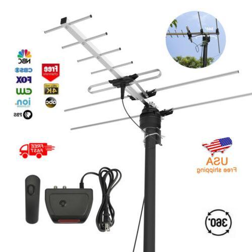hdtv antenna 200 miles tv digital hd