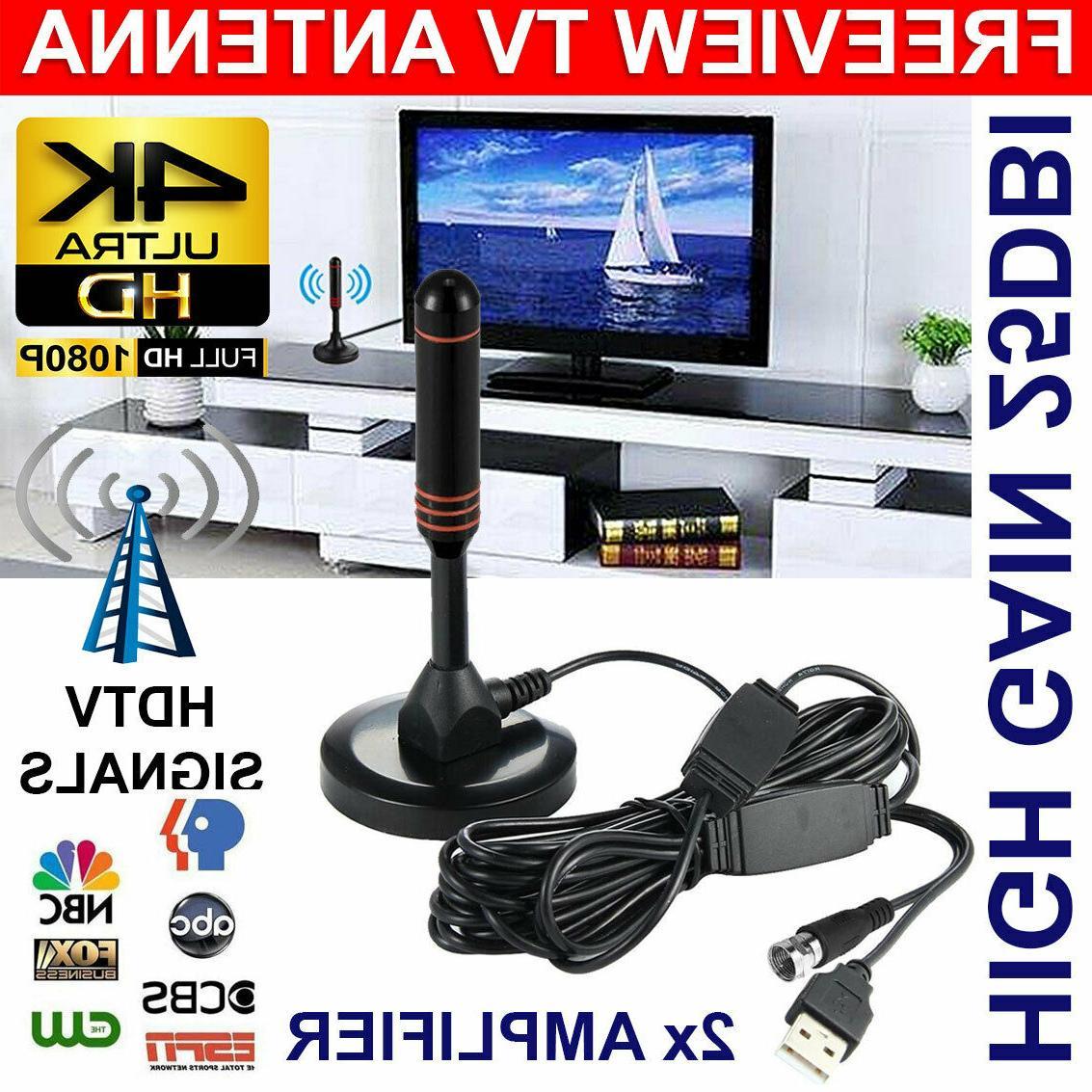 200miles 1080p indoor digital tv hdtv antenna