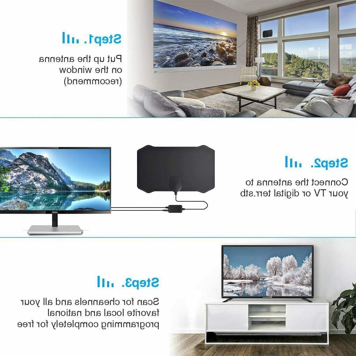 2020 TV with 1080P HDTV Amplified