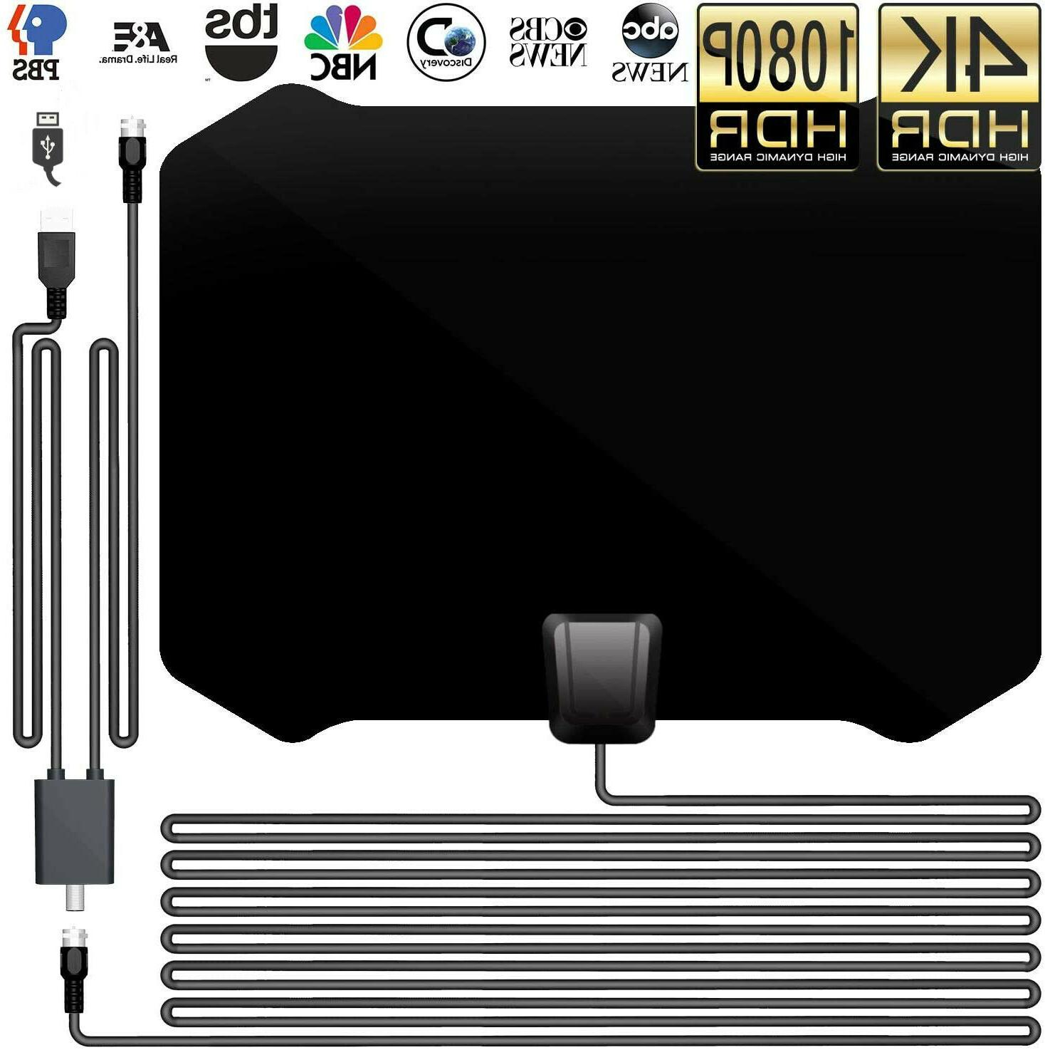 2020 new tv antenna with amplifier free
