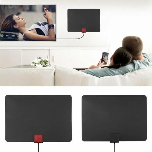 25/35/50/150 Mile Indoor HDTV Amplified TV Antenna New WF