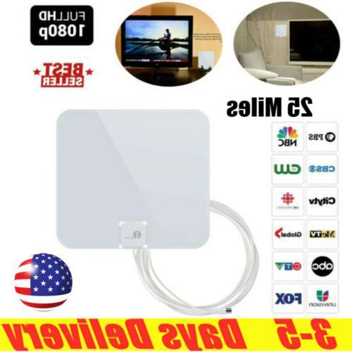 25 Miles Range HDTV Antenna Digital Indoor TV Antenna Better