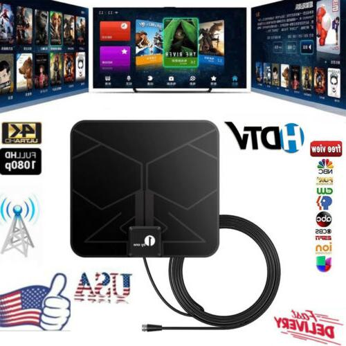 1byone   Indoor Digital TV HDTV Antenna  UHF/VHF/ 1080P