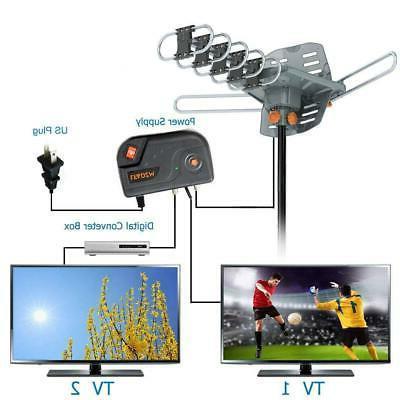 200 Antenna Amplified 1080P Rotation