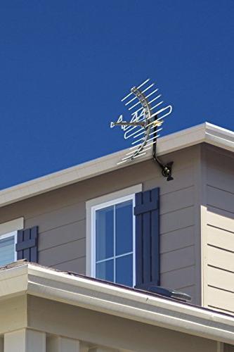 GE Attic TV Outdoor, Long Range Antenna, HDTV 4K VHF