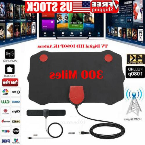 300 mile range antenna tv digital hd