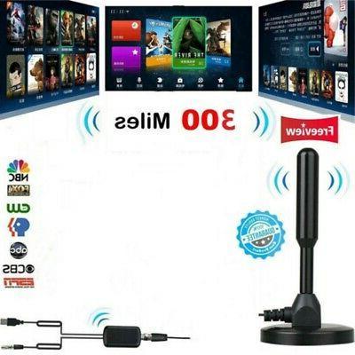 1080p 300 mile range tv antenna digital