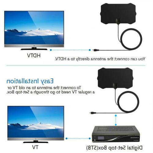 ViewTV Flat HD Digital Indoor TV 350 Miles Booster