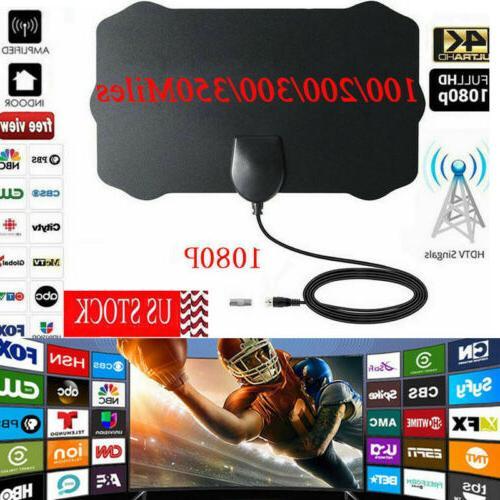 350 mile range antenna tv digital hd