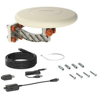 360° Omni-directional Outdoor TV Antenna RV Marine Gain Boo