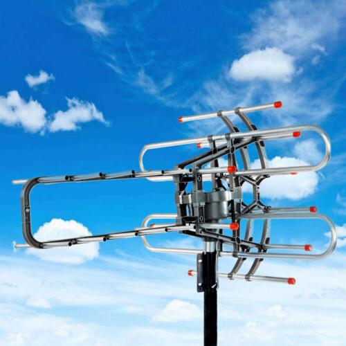 990Miles Long Range Digital Outdoor Antenna UHF/VHF