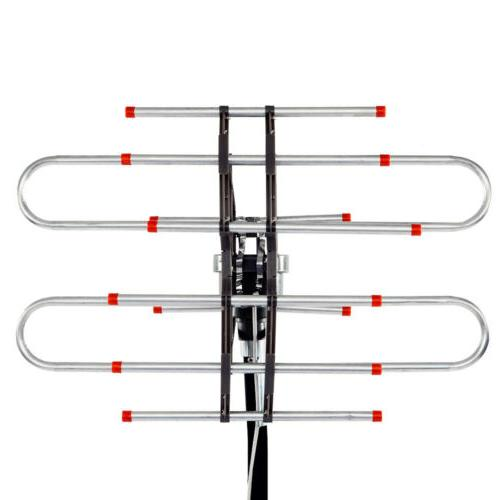 990Miles Range Digital TV HDTV Outdoor Antenna 4K UHF/VHF
