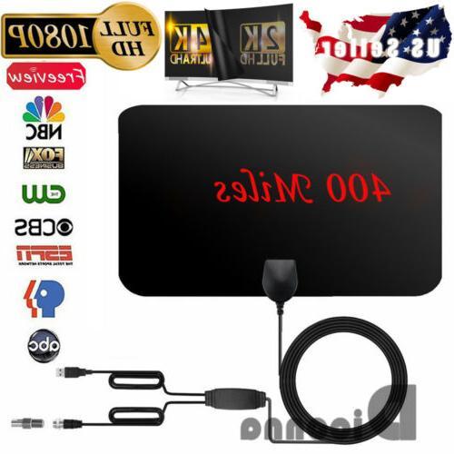 400 TV 4K Antena Digital HDTV 1080p