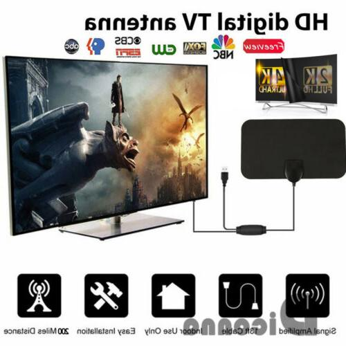 400 Range Antenna TV HD 4K Digital HDTV