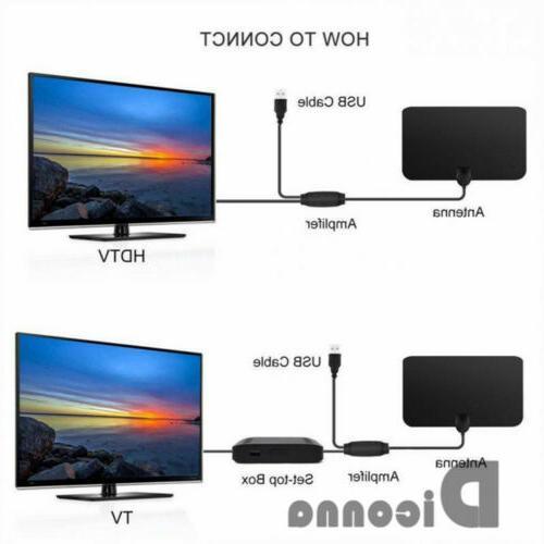 400 Mile TV HD Skywire 4K Antena Digital HDTV
