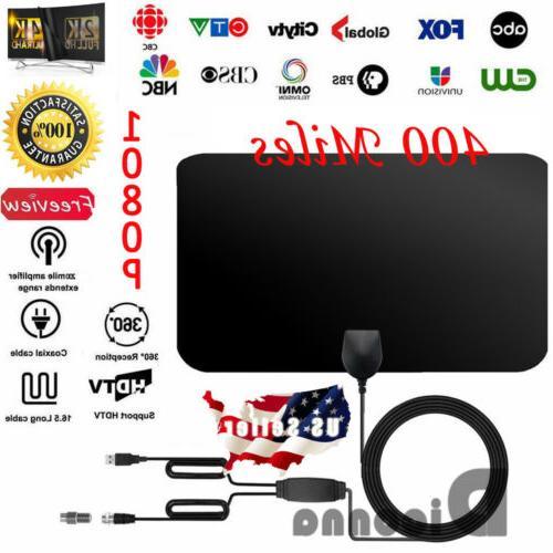 400 mile range antenna tv digital hd