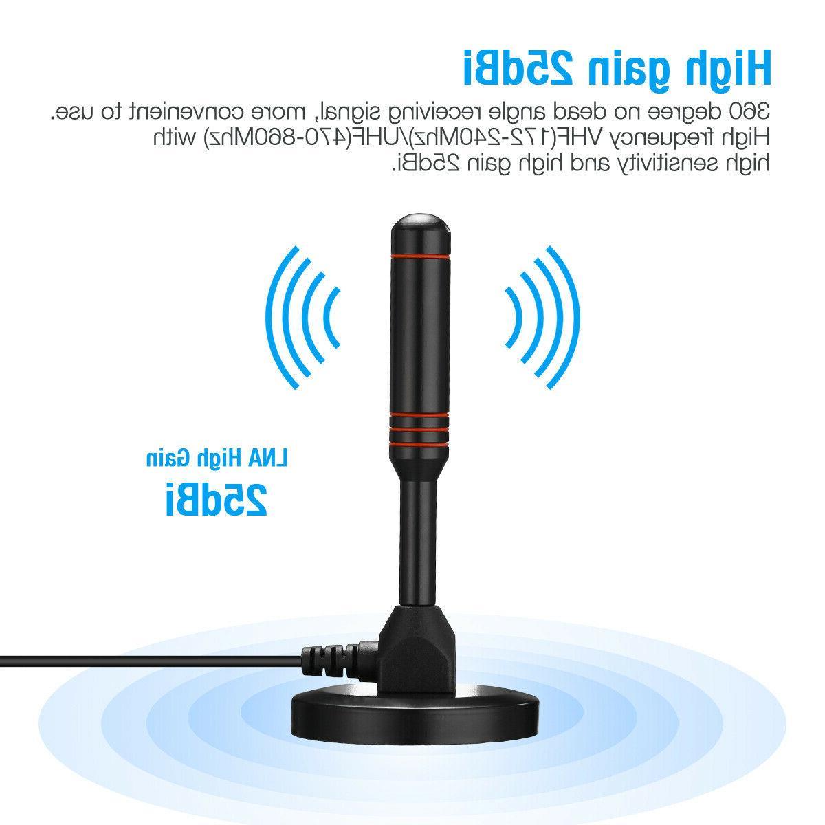 4K 1080P Indoor Digital TV Amplifier Range HD 200 Miles
