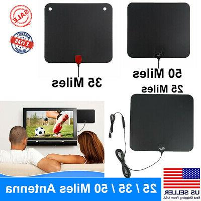 50 30 25 miles hdtv tv antenna