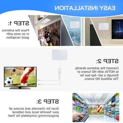 1byone 50-Miles Flat HD TV 1080P