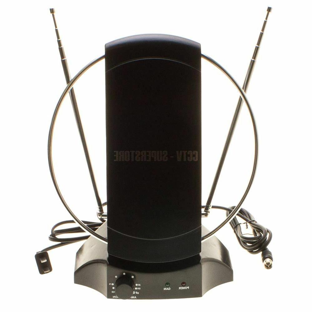 50 miles indoor tv antenna signal amplifier