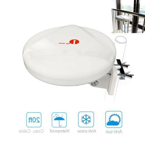 60 miles antenna outdoor range digital amplifier