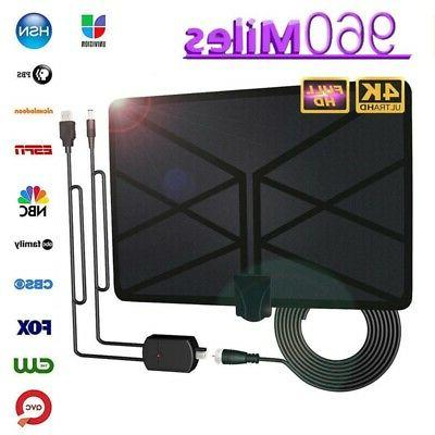 960 Mile Range Antenna TV Digital HD Skywire 4K Antena HDTV