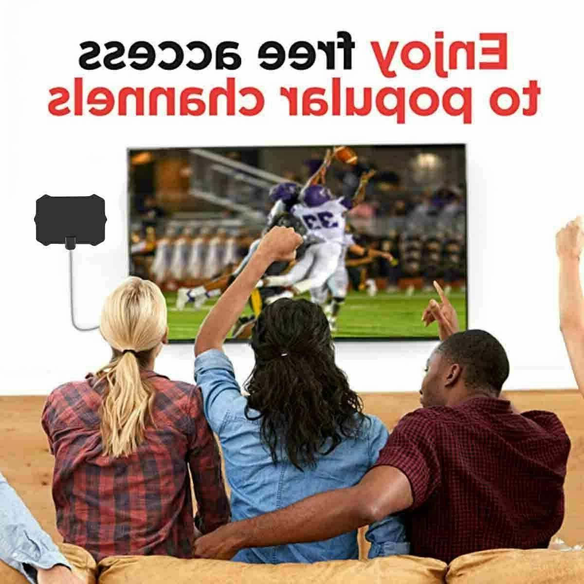 Digital TV Antenna Mile Range Signal Amplifier HDTV