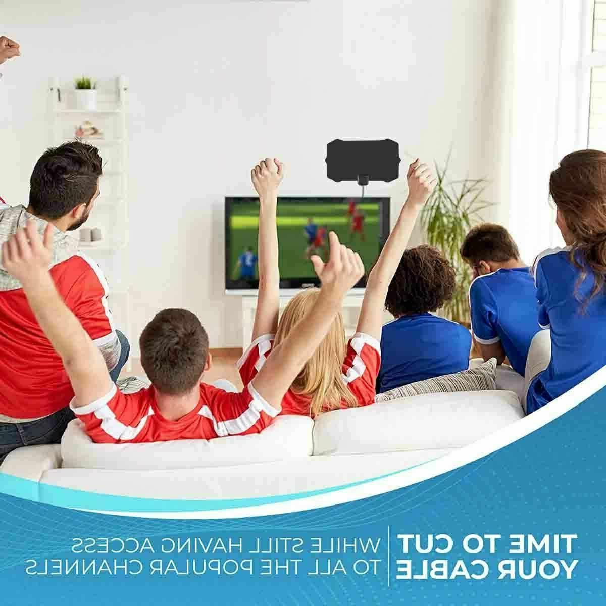 Digital TV Antenna Mile Range Amplifier HDTV 1080P.