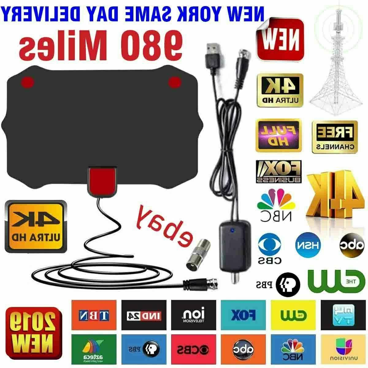 digital tv antenna 980 mile range signal