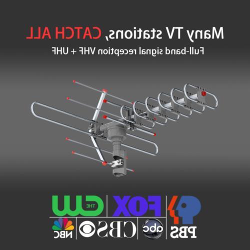 980 Miles Antenna HDTV 1080P 4K