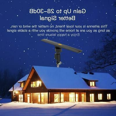 990 Outdoor TV Antenna Amplified 1080P