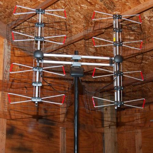 ANTENNAS DIRECT 8 Bowtie Indoor/Outdoor HDTV - Range