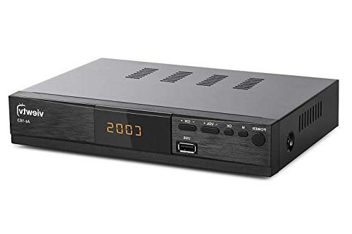 Viewtv AT-163 ATSC TV with Flat Digital TV and HDMI w/Recording Function/HDMI Out/Composite Input