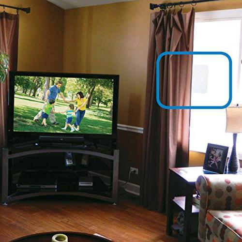 Winegard FL-55YR Amplified Razor Thin HDTV Indoor Antenna