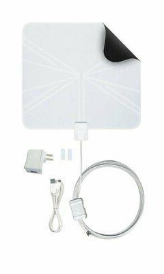 Winegard FlatWave Amped Digital TV Antenna - Mile Long Range Antenna