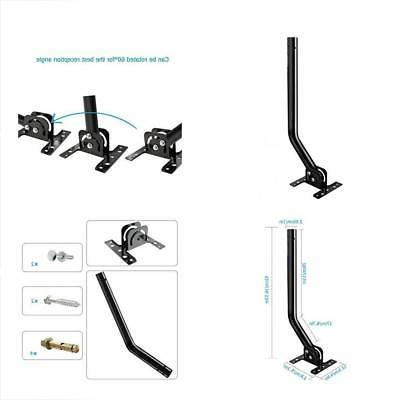 adjustable attic antenna mount outdoor tv mounting