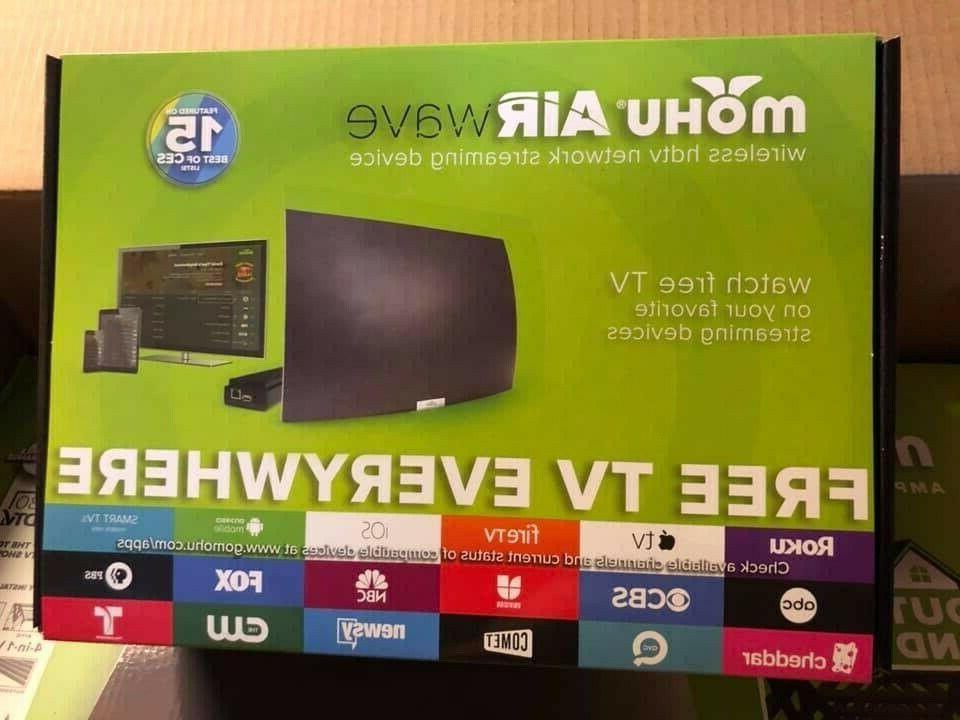 Mohu AirWave HDTV Device, Premium Free TV,