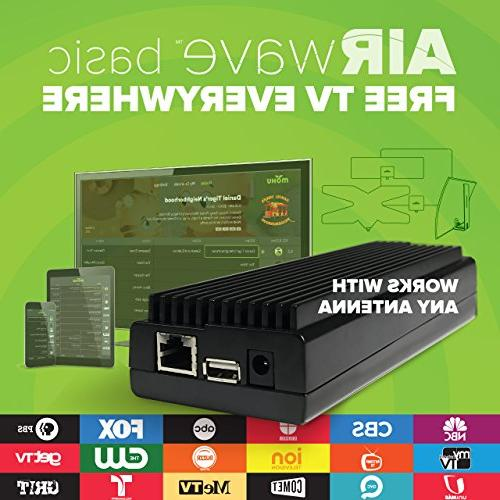 Mohu AirWave Wireless HDTV Edition, OTA Antenna, Guide, Mohu app, MH-110088
