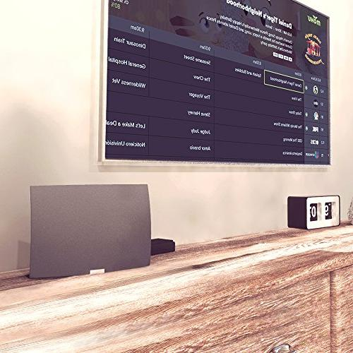 Mohu Wireless HDTV Network Streaming Edition, Guide, Mohu TV app, MH-110088