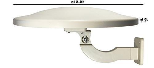 Amplified HDTV 4K UHD 65 Digital TV Antenna. ATSC/TV/DTV/UHF/VHF/FM Anti-UV