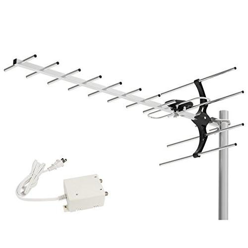 amplified roof hdtv antenna